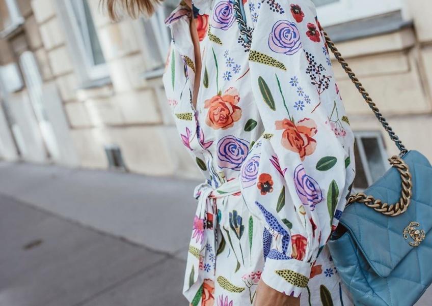 Les plus jolies robes fleuries qui vont illuminer votre look cet automne