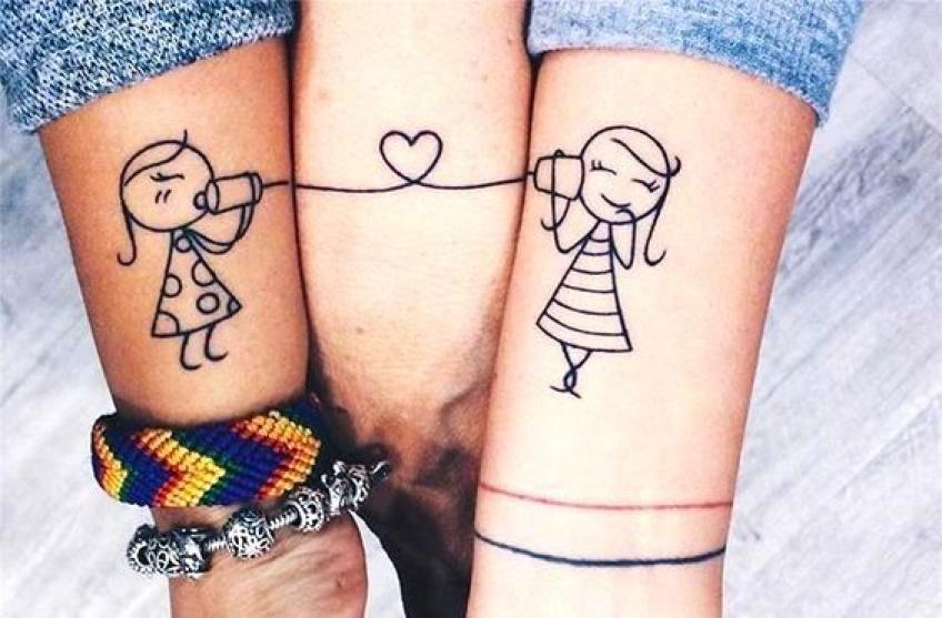 20 inspirations de tatouages à faire avec sa ou ses soeurs !