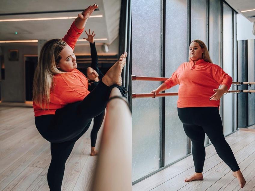 #BodyGlory : Chloe Elliott nous prouve que peu importe notre tour de taille, on peut devenir danseuse !
