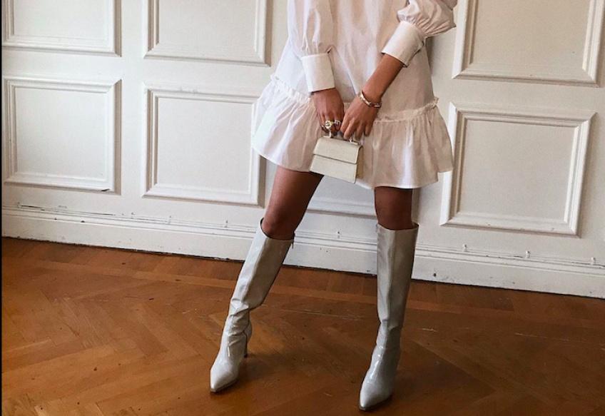 Avec la combinaison robe/bottes, vous serez la plus sexy cet automne !