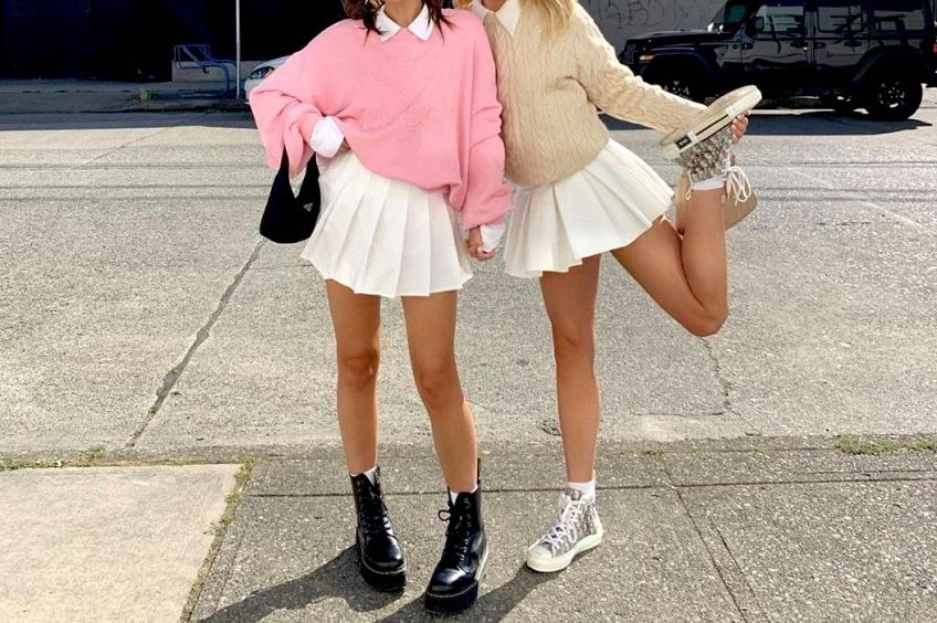 Tendance : La jupe plissée, la jupe sage et élégante qui fait sensation cet automne !