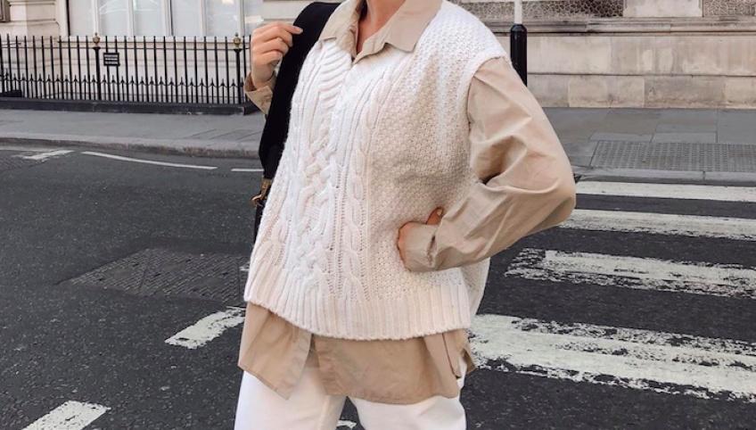 Les looks repérés sur Instagram pour adopter la tendance du pull sans manches !