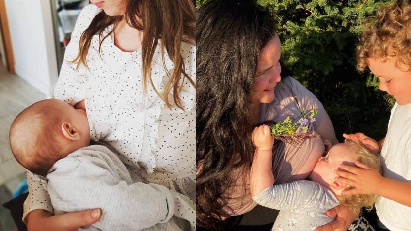 Critiquées dans la rue, elles répondent avec des photos d'elles allaitant en public