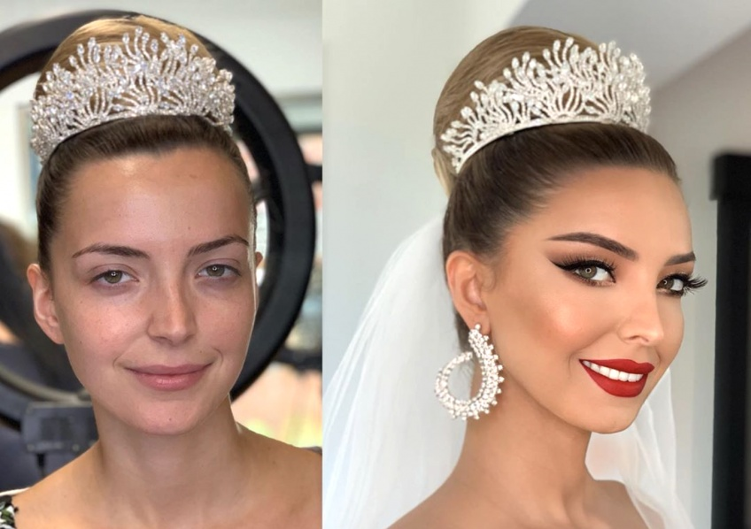 Mariage : 20 transformations make-up avant-après