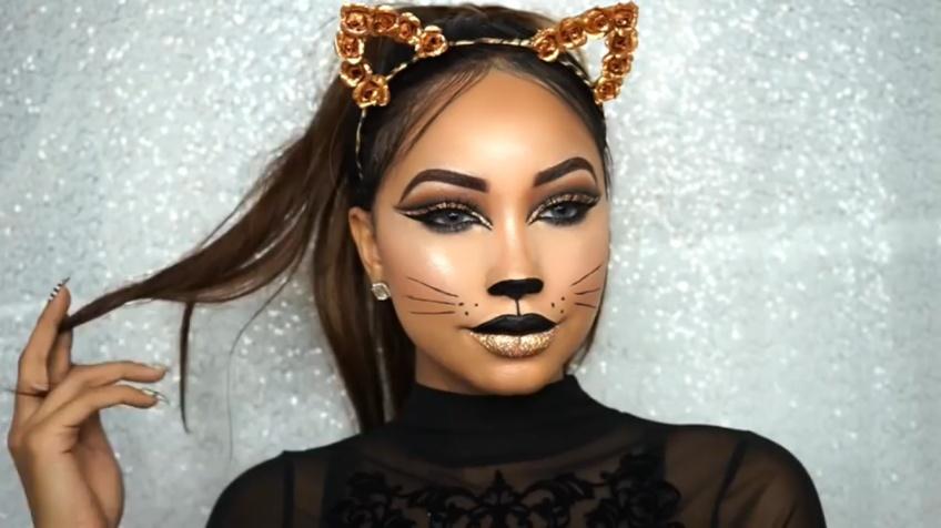 10 idées make-up Halloween pour un look ronronnant !