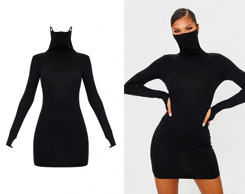 La robe-masque : quand la Covid-19 s'immisce dans la mode !