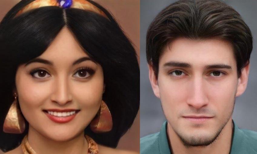 Une intelligence artificielle recrée des personnages Disney, plus vrais que nature !