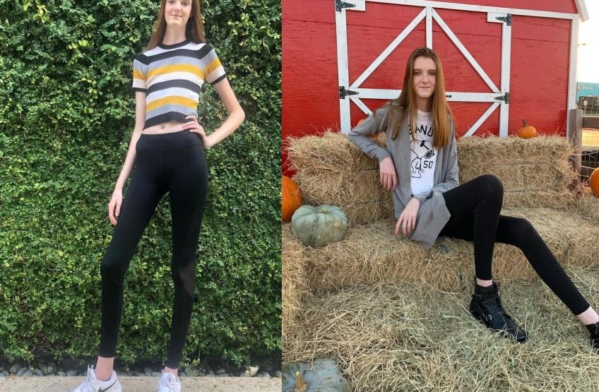 Une texane de 17 ans possède les plus longues jambes du monde !