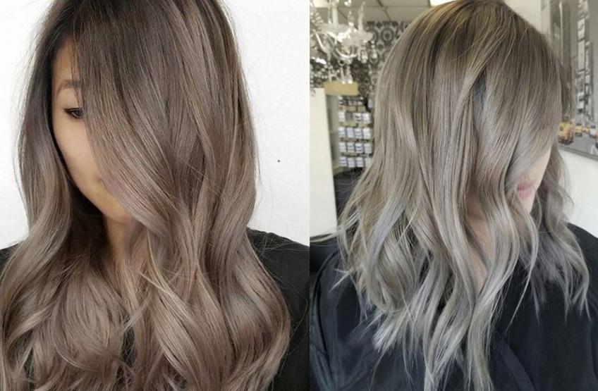 La tendance des cheveux Greige, une coloration pour l'hiver !