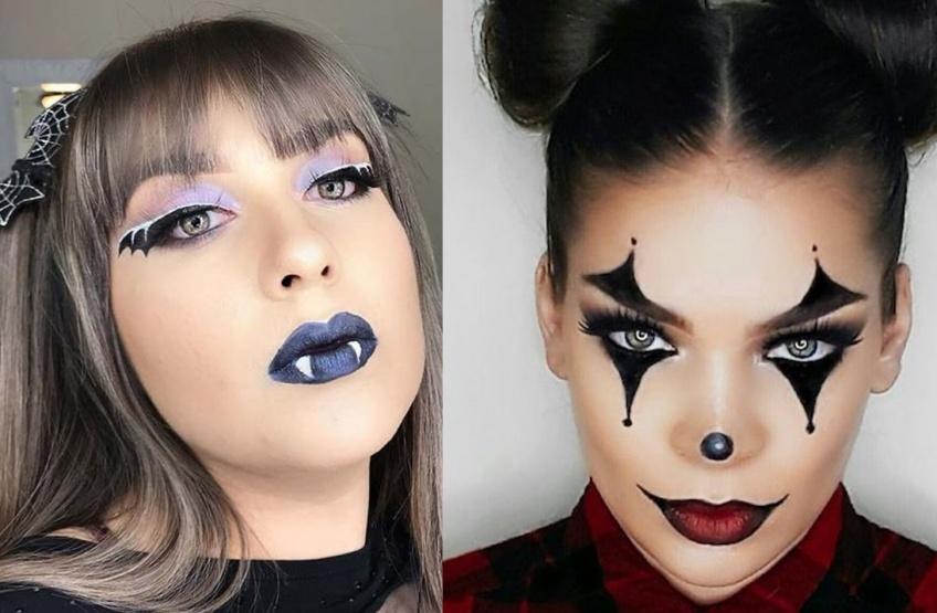 5 makeups d'Halloween à réaliser avec un eye-liner !