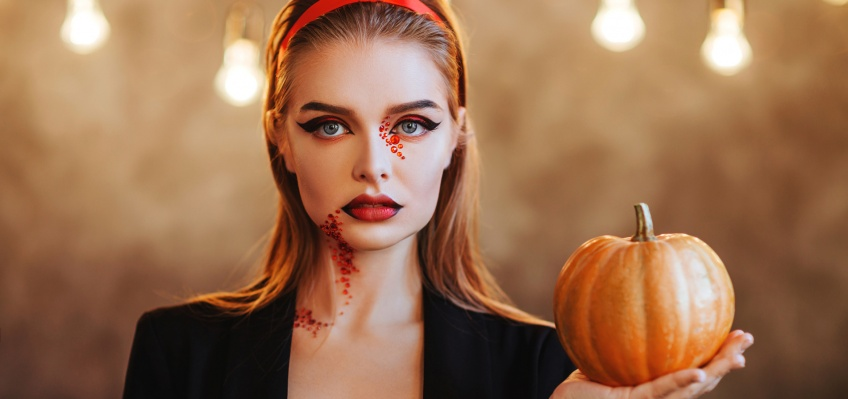 5 make-up d'Halloween à réaliser avec un eye-liner !