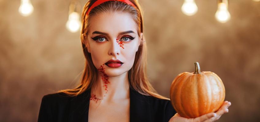 5 make-up d'Halloween à réaliser avec un eye-liner !