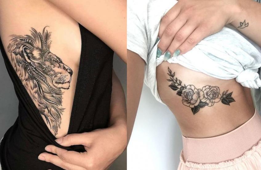 tatouages côtes