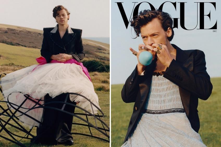 Harry Styles en robe pour Vogue : une vision qui continue tristement de déranger en 2020