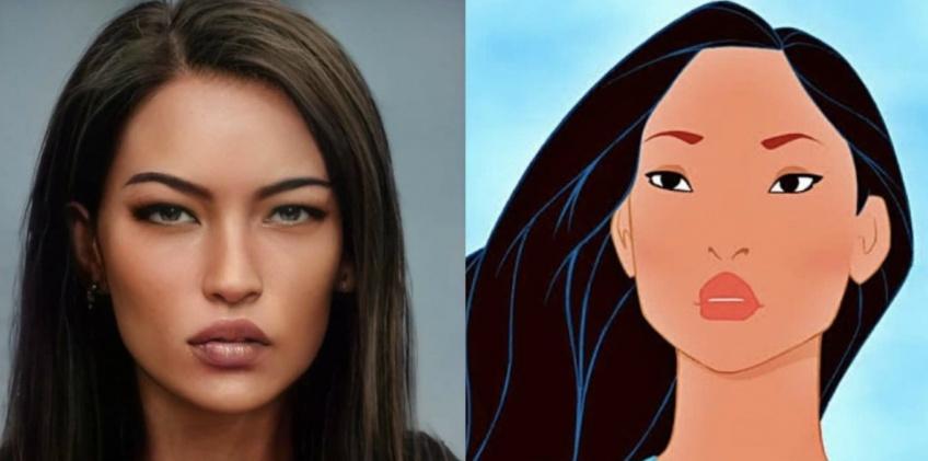 Une artiste montre à quoi ressembleraient les personnages Disney dans la vraie vie