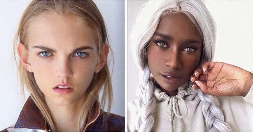 10 modèles photo qui prouvent que chacune d'entre nous est unique !