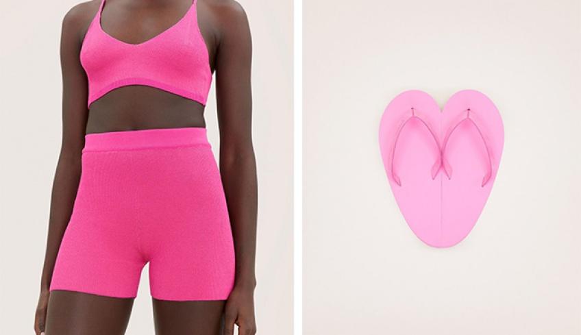 Jacquemus dévoile sa collection 'Pink', garantie anti-blues et à petits prix !