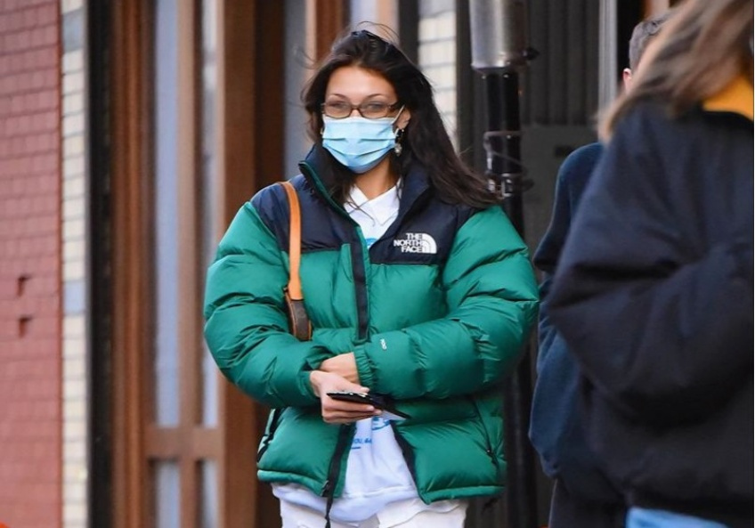 Emrata, Bella Hadid : les mannequins dévoilent la doudoune la plus stylée de l'hiver