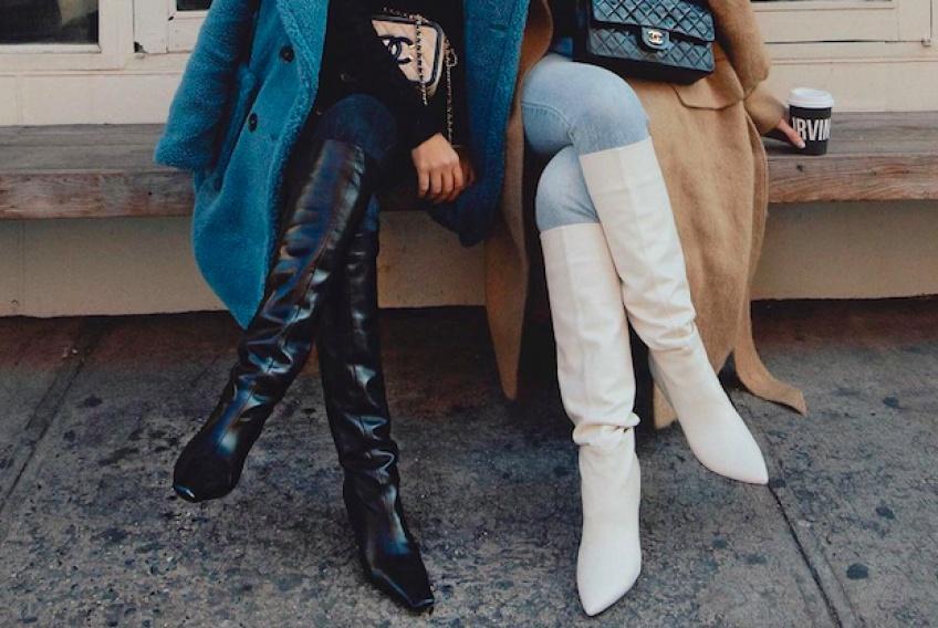 #Shoesday : Les cuissardes qui vont nous accompagner tout l'hiver