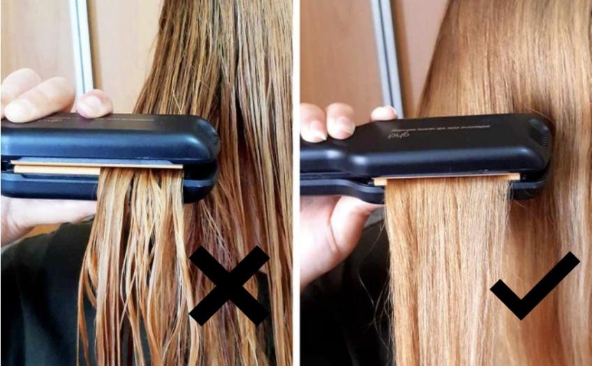 10 erreurs à ne plus faire avec un fer à lisser ou à boucler !