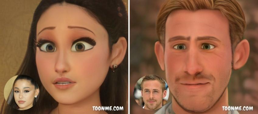 Toon Me : L'application virale qui vous transforme en personnage Pixar