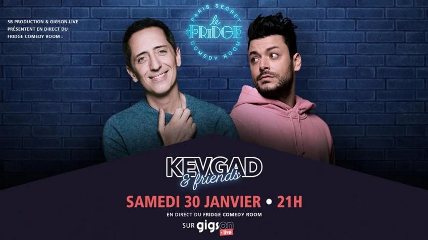 KevGad & Friends : le spectacle de l'humour 2.0 à ne pas louper !