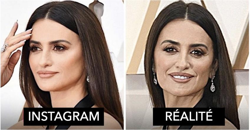 Les stars dans la vraie vie VS sur Instagram !