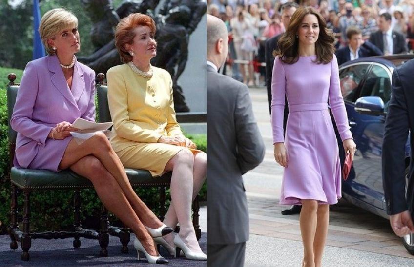 Ces fois où Kate Middleton a adopté les looks de la Princesse Diana