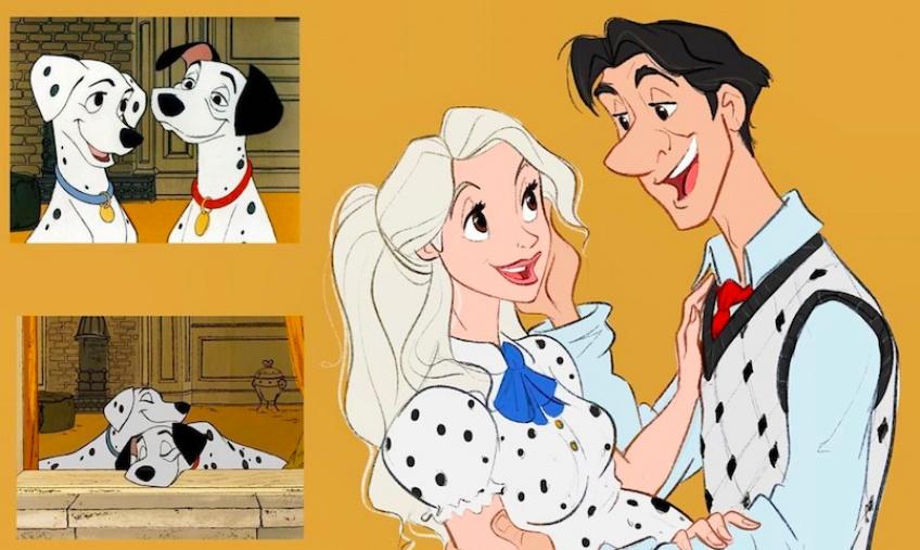 Disney : Cet artiste transforme les animaux des dessins animés en humains !