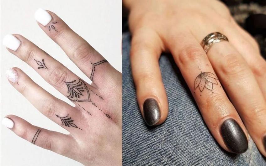 20 mini tatouages pour des doigts de fée