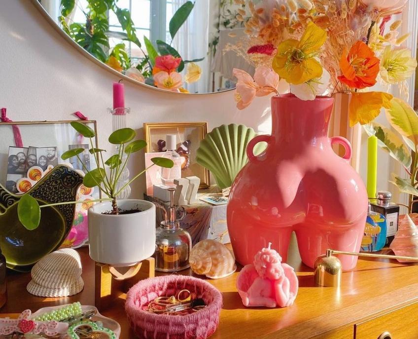 Spotted : on a trouvé le vase tendance que tous les fans de déco s'arrachent sur Instagram !