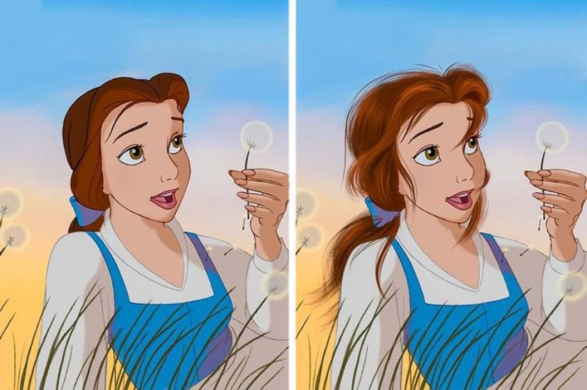 cheveux princesse