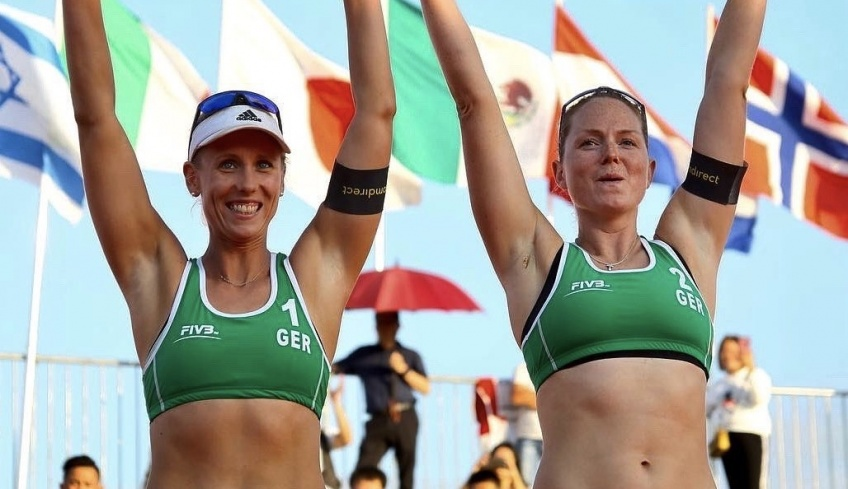 Sport : les volleyeuses allemandes interdites de porter un bikini