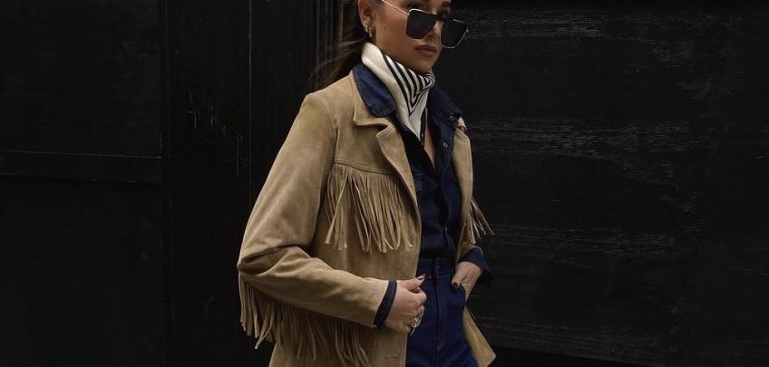 Tendance : la veste à franges est le must-have pour cette mi-saison
