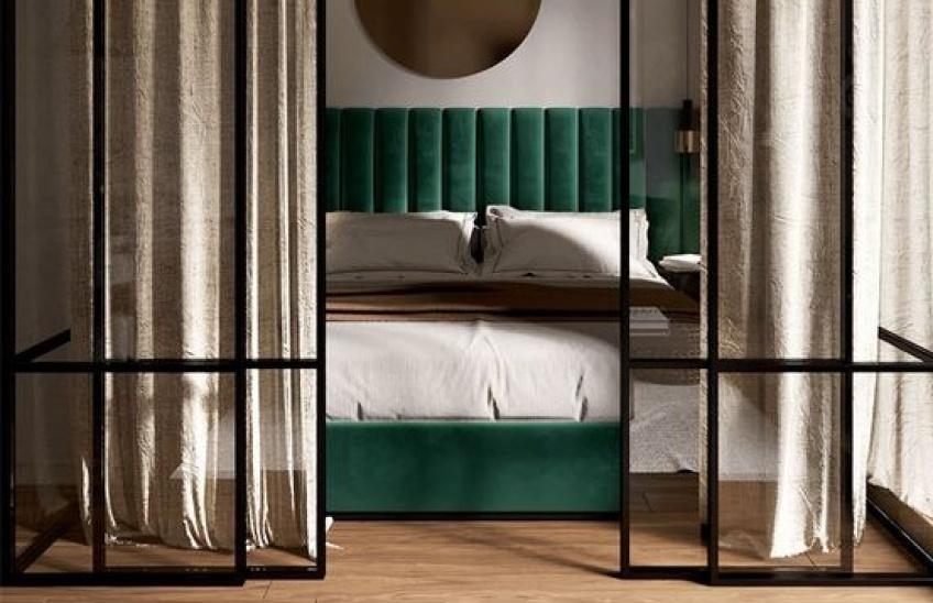 Décoration : 5 inspirations pour dissimuler son lit dans son studio !