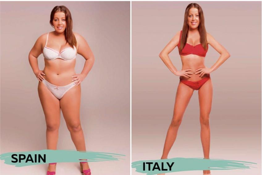 À quoi ressemble le corps parfait selon les pays ?