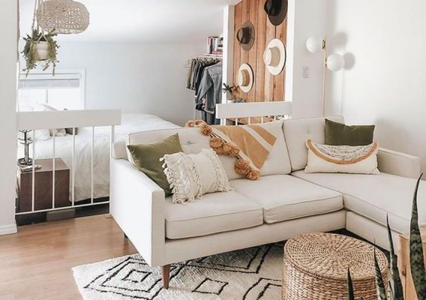 Déco : 10 astuces pratiques pour agrandir l'espace si vous vivez dans un studio !