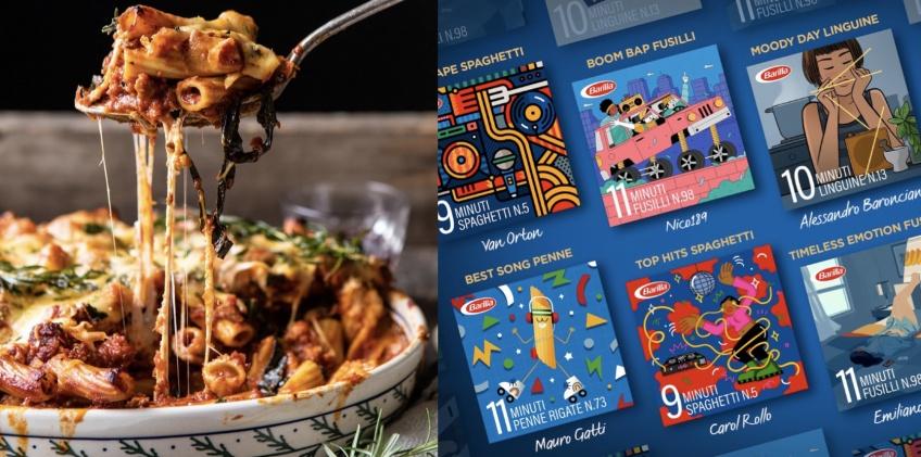 Food : Barilla crée des playlists Spotify pour réussir parfaitement la cuisson de vos pâtes !