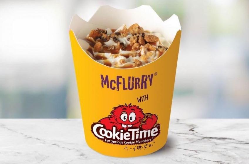 Food : McDonald's dévoile un McFlurry au cookie et aux éclats de chocolat !