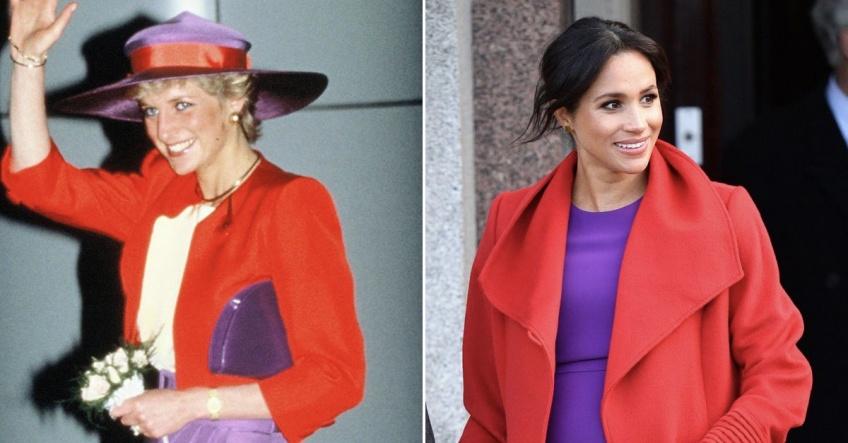 15 fois où Meghan Markle s'est inspirée de Lady Diana pour ses looks !