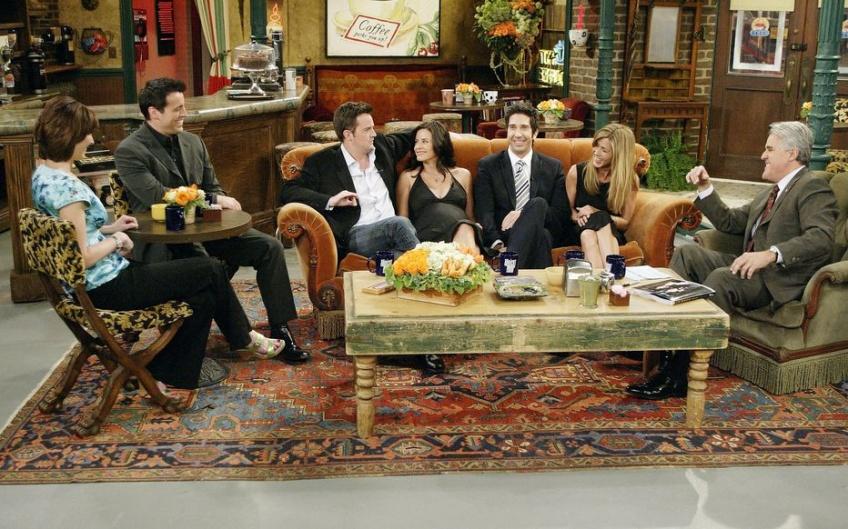 Friends : l'épisode des retrouvailles débute son tournage
