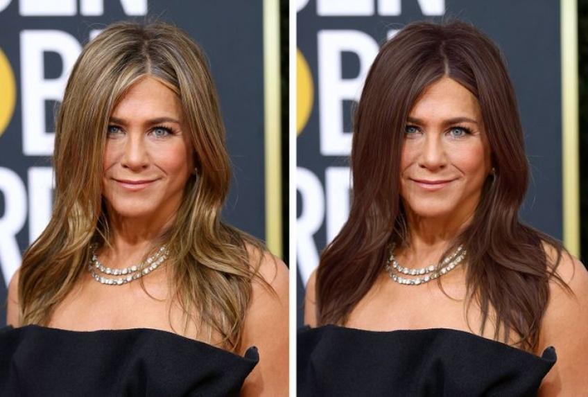 Voici à quoi auraient ressemblé ces stars avec leurs cheveux naturels !