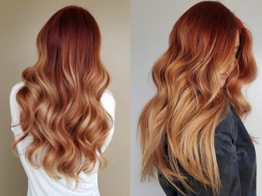 Le copper + blond hair : le duo coloration gagnant !