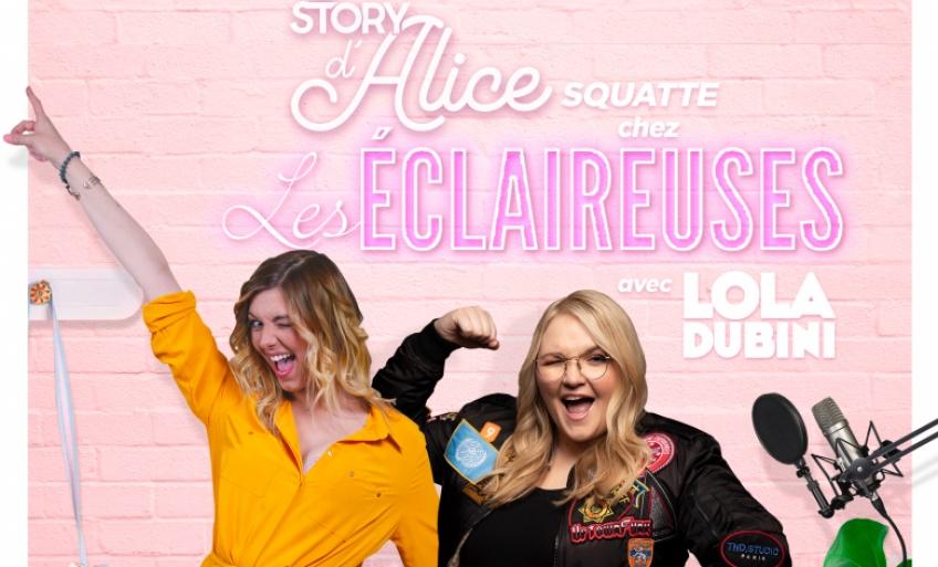 La Story d'Alice squatte le canap' des Éclaireuses : l'émission déjantée du 5 avril avec Lola Dubini