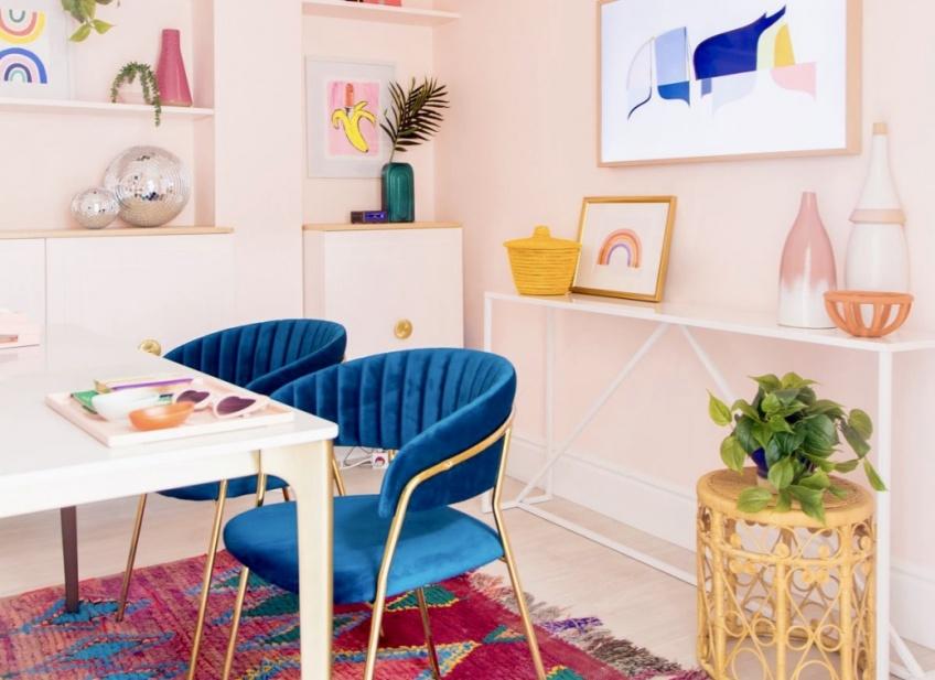 Déco : 15 inspirations vues sur Pinterest pour adopter de la couleur dans notre intérieur !