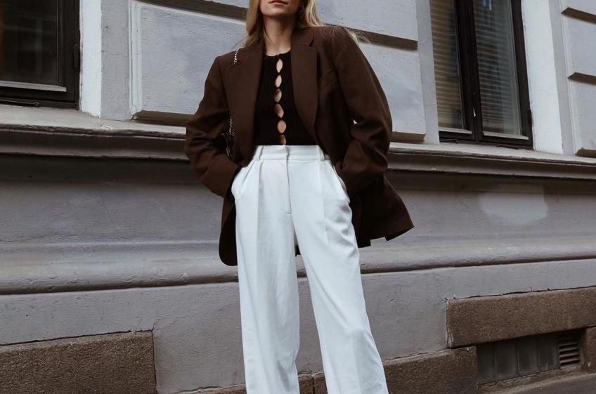 Les looks repérés sur Instagram pour adopter le pantalon de tailleur masculin !