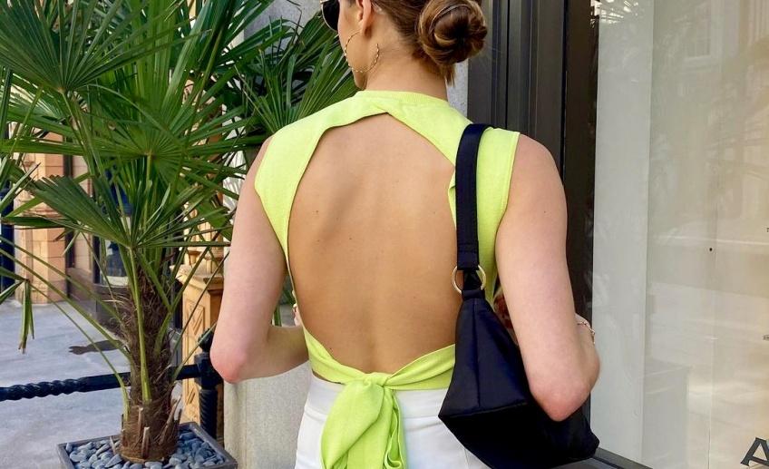 Tendance : le dos nu fait sensation auprès des modeuses ce printemps !