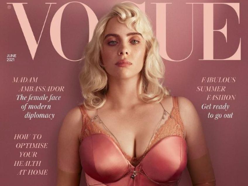 À la une du Vogue British, Billie Eilish se dévoile et combat les problèmes d'image corporelle