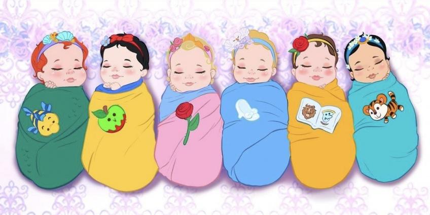 Ce graphiste imagine les personnages Disney en adorables bébés !