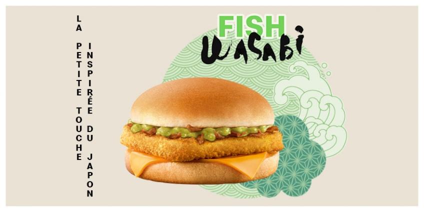 Food : un burger au wasabi débarque chez McDonald's !